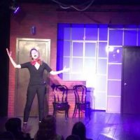 Second City All By Myself parody onstage be true to thy selfie